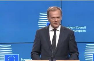 Brexitul a fost declansat oficial Donald Tusk: Este un proces ce nu va avea castigatori, dar exista si un aspect pozitiv