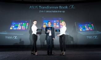 CES 2015: Laptopul-tableta si cel mai subtire smartphone cu zoom optic 3X (Foto)