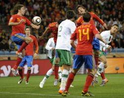 CM 2010: Spania trece la limita de Portugalia