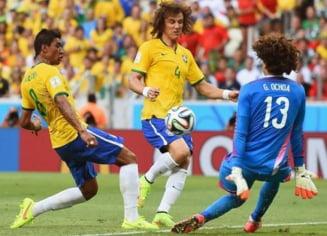 CM 2014: Brazilia a calcat stramb cu Mexic