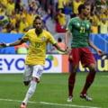 CM 2014: Brazilia a facut scor cu Camerun