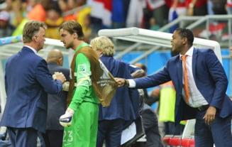 CM 2014: Cine a avut ideea de a-l folosi pe olandezul Krul special pentru penaltiuri