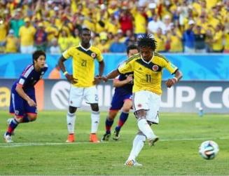 CM 2014: Columbia, calificare en-fanfare in optimi