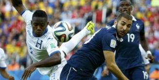 CM 2014: Franta trece de Honduras cu un scor de forfait. Benzema, in zi de gratie