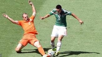 CM 2014: Olanda trece de Mexic dupa un meci electrizant, decis in ultimele minute