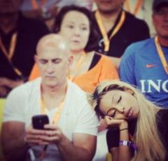 CM 2014: Cum au fost surprinsi doi spectatori la meciul Ecuador - Franta