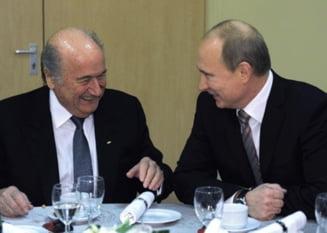 CM 2018: Putin, bagat in sperieti de Blatter - anuntul facut de presedintele FIFA