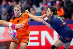 Campionatul European de handbal: Romania pierde finala mica in fata Olandei si rateaza medaliile de bronz