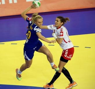 Campionatul European de handbal: Romania a fost eliminata