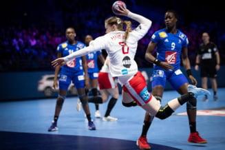Campionatul European de handbal feminin: Franta face un pas gresit neasteptat in grupa sa principala
