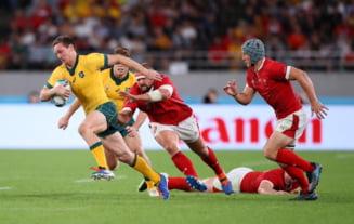 Campionatul Mondial de rugby: Rezultatele meciurilor de duminica. Tara Galilor realizeaza marea surpriza