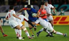 Campionatul Mondial de rugby: Romania pierde partida cu Italia. Repriza secunda a fost senzationala