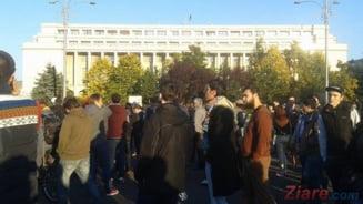 Cazul politistului mort: Protestul din Bucuresti, in atentia presei straine