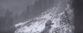 Clipul zilei: Cea mai abrupta linie de funicular din lume a fost inaugurata in Elvetia