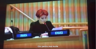 Clipul zilei: Engleza Olgutei Vasilescu, la ONU