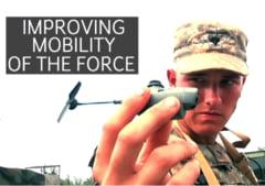 Clipul zilei: Mini-dronele, armele viitorului