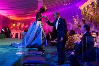 Clipul zilei: Ultimul dineu oficial al presedintelui Obama