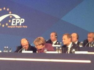 Congres PPE Basescu, alaturi de Merkel si Barroso, la Bucuresti