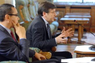 Consultari Cotroceni: Ce i-a soptit Traian Basescu lui Crin Antonescu