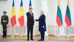 Corespondenta din Lituania - Iohannis, nemultumit de UE in criza migrantilor: Unele solutii sunt slabe, sanctiunile nu rezolva nimic