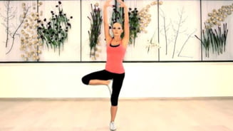 Cori Gramescu te ajuta sa arati bine: Exercitii din picioare (Video)