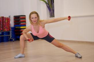 Cori Gramescu te ajuta sa arati bine: Exercitii pentru brate