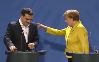Criza din Grecia - Franta arata cu degetul: Merkel a fost mamoasa si protectoare cu Tsipras