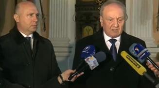 Criza din Moldova, aproape de final: Timofti merge pe mana premierului cu majoritate in Parlament
