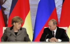 "Criza din Ucraina: ""Serioase divergente"" intre Putin si Merkel"