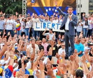 "Criza din Venezuela la apogeu: Guaido ii cheama pe cetateni in strada, la faza finala a ""Operatiunii Libertate"""