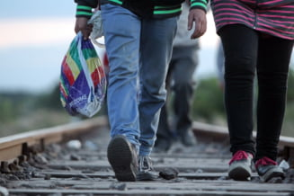 Criza imigrantilor: Daca Ungaria le-a inchis granita, refugiatii intra in UE prin Croatia