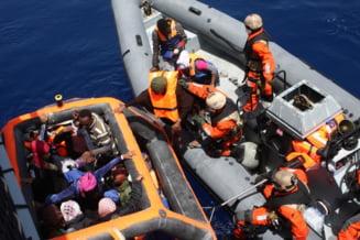 Criza imigrantilor: Peste 1.800 de persoane salvate luni in Marea Mediterana