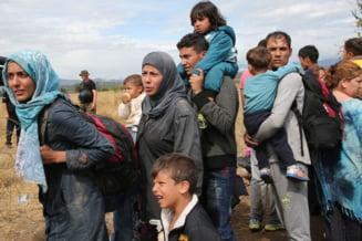 Criza imigrantilor: Proteste in Slovenia legat de politica UE privind refugiatii