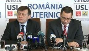 Criza prelungita in USL: Ministri PSD, pe posturile liberalilor si noi amenintari de la Antonescu