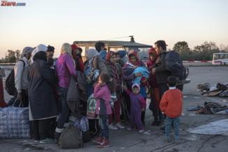 Criza refugiatilor: Si Austria ridica un gard la granita. Imigrantii au devenit agresivi (Video)