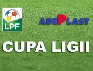 Cupa Ligii: Rezultatele inregistrate miercuri si echipele calificate