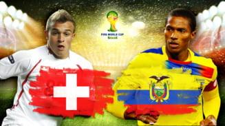 Cupa Mondiala 2014: Avancronica partidei Elvetia - Ecuador