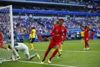 Cupa Mondiala 2018: Anglia se califica in semifinale fara sa straluceasca