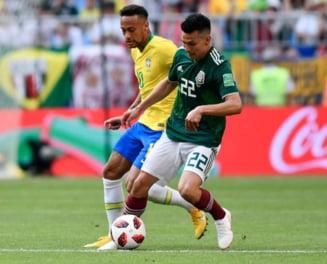 Cupa Mondiala 2018: Brazilia invinge Mexic si ajunge in sferturi