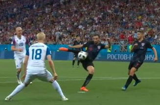 Cupa Mondiala 2018: Croatia invinge Islanda si termina grupa cu maxim de puncte