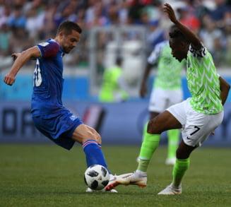 Cupa Mondiala 2018: Nigeria invinge Islanda dupa o repriza de vis