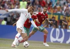 Cupa Mondiala 2018: Portugalia invinge greu Marocul