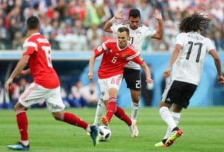 Cupa Mondiala 2018: Rusia invinge Egiptul si e cu un pas si jumatate in optimi