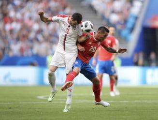 Cupa Mondiala 2018: Serbia invinge Costa Rica dupa un gol de poveste din lovitura libera