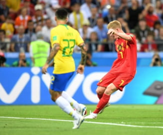 Cupa Mondiala 2018: Belgia elimina Brazilia si se califica in semifinale