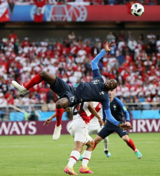 Cupa Mondiala 2018: Franta castiga din nou la limita si se califica in optimi
