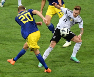 Cupa Mondiala 2018: Germania invinge Suedia cu un gol marcat in minutul 95