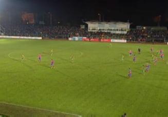Cupa Romaniei: Steaua castiga greu in noroiul de la Suceava