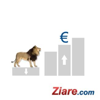 Curs euro - leu: Leul a scazut la minimul ultimelor noua luni