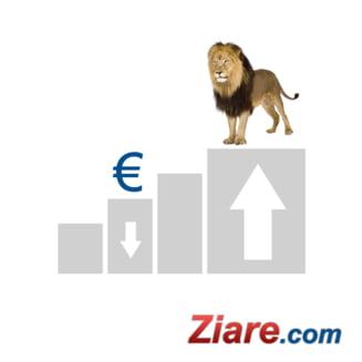 Curs euro-leu: Euro, din nou sub 4,40 lei